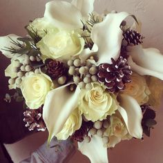 Winter bouquet {Botany Floral Studio}