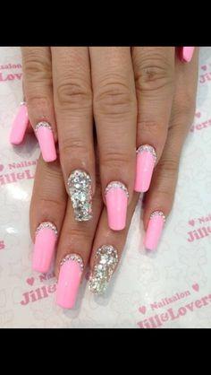 Pink nd diamonds