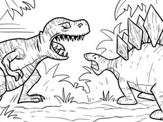 T-Rex-Coloring-Page (62).jpg (1280×960)