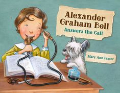 Alexander Graham Bell, Becoming A Teacher, Book Challenge, Kids Lighting, Penguin Random House, He Is Able, Hands On Activities, Nonfiction Books, Inventions