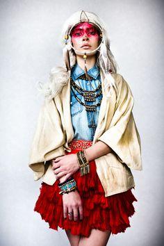 'Crina Unchained' by Barna Nemethi via FashionServed