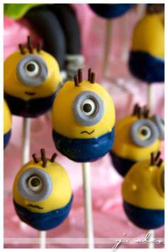 Minion Cake Pops (2012 Kids' BD Party)