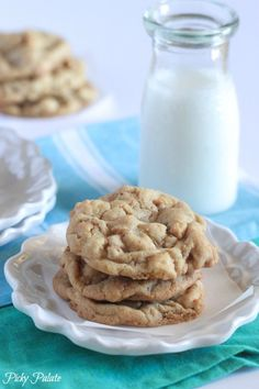 My Salted Caramel Crunch White Chip Cookies make a perfect cookie for every sweet tooth!