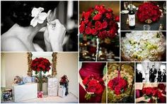 red for Wedding decor - Google Search