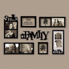 DIY Family Photos Display Ideias For Apartment Decor Family Pictures On Wall, Display Family Photos, Living Room Pictures, Family Picture Walls, Displaying Photos On Wall, Picture Arrangements, Photo Arrangement, Family Wall Decor, Living Room Decor