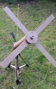 DIY X-Wing UHF milsat antenna