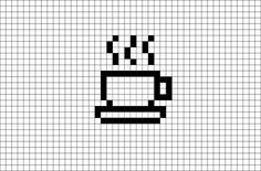 Easy Pixel Art, Pixel Art Grid, Easy Perler Bead Patterns, Perler Bead Art, Perler Beads, Minecraft Pixel Art, Minecraft Houses, Graph Paper Drawings, Graph Paper Art