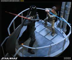 Diorama - Luke vs Darth Vader na Estrela da Morte.