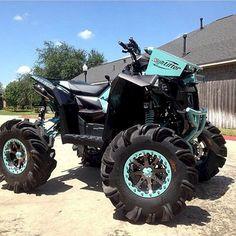 High Lifter Radiator Relocation kit sitting on Outlaw Tires Big Girl Toys, Toys For Girls, Boy Toys, Best Atv, Honda, Atv Four Wheelers, Quad Bike, Riding Gear, Dirtbikes