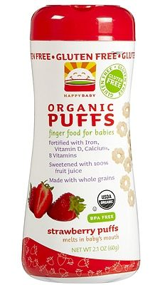 The Best Organic Baby Products -- Happy Baby Happy Puffs