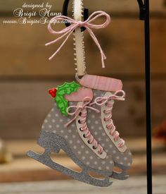 """Brigit's Scraps """"Where Scraps Become Treasures"""": SVG Cuts 12 Days of Christmas Day 2"""