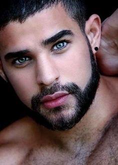 Just Beautiful Men, Most Beautiful Eyes, Beautiful Men Faces, Gorgeous Guys, Face Men, Male Face, Young Men Haircuts, Mohawk Hairstyles Men, Sexy Tattooed Men