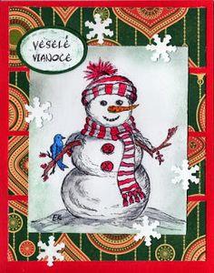 """""""Kika's Designs: Snowman"""""""