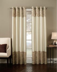 Venetian Velvet Luxury Curtain Panel- Home and Garden Design Ideas