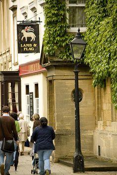 Lamb & Flag pub, Oxford, UK