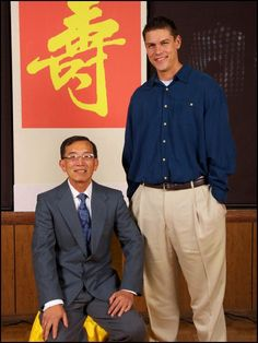 Ben Der and I (Dragon Family Wing Chun)