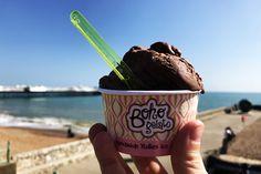 Op vakantie in Brighton met het gezin Brighton, Gelato, Ice Cream, Tips, Desserts, Food, No Churn Ice Cream, Tailgate Desserts, Deserts