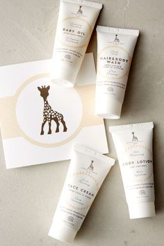 Sophie La Girafe Starter Kit - anthropologie.com