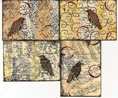Bird ATCs by PaperScraps