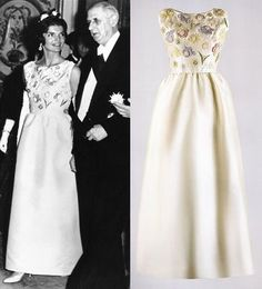 Jacqueline Kennedy wearing Givenchy