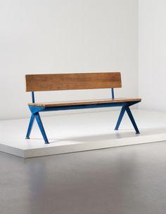Jean Prouvé 'Marcoule' Bench