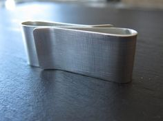 Double Money Clip in Recycled Sterling Silver by erinjanedesigns