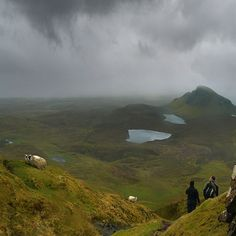 Alone with the rain and sheeps on Isle of Skye | Flickr - Photo Sharing!