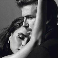Victoria and David Beckham for Vogue Paris