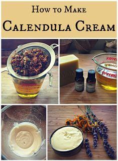 How to make calendula cream