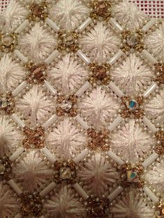Beads and embroidery