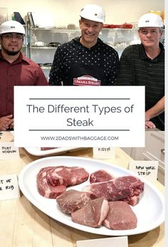 How to tell the different cuts of steak from each other. Omaha Steaks helps us learn about all the different steaks and why. Steak Cooking Times, Cooking Bacon, Cooking Tips, Best Cut Of Steak, Steak Cuts, How To Cook Meatloaf, How To Cook Steak, Restaurant Dishes, Restaurant Recipes