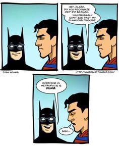 Batman trolling SM