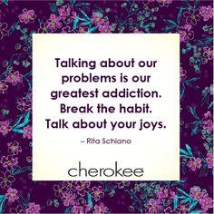 #Joy #Habit #Inspiration #Cherokee