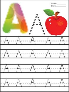 How fun are these letter A Preschool #printables? Be sure to repin and share.