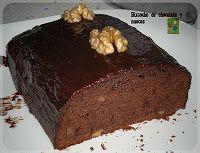 COCINAR SIN MIEDO: BIZCOCHO DE CHOCOLATE Y NUECES-Todo a 100 (panificadora)
