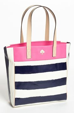 Love this tote! #stripes