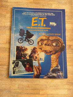 E.T. The Extra Terrestrial Vintage by AngieBeeArt on Etsy, $1.50