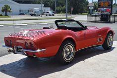 1969 Corvette, Chevrolet Corvette, Chevy, Romantic Vacations, Romantic Travel, Classic Corvette, Venice Florida, Corvette Convertible, Roadster