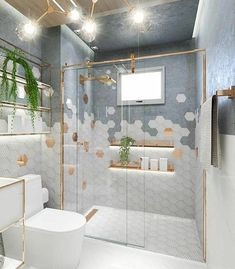 European Home Decor 75752 # Decoration 26 bathroom interiors to copy now interiors homedecor interiordesign homedecortips Bathroom Design Luxury, Modern Bathroom Design, Home Interior Design, Wc Decoration, Grey Wall Decor, Bathroom Inspiration, Cheap Home Decor, House Design, 1920s Bathroom