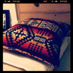 Pendleton's Four Directions in a pillow