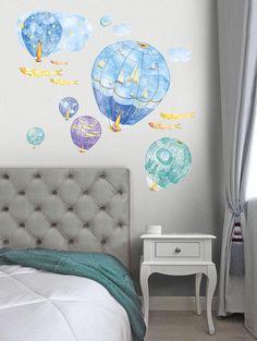 Magic Air Balloons Hot Air Balloon Wall Decal Adventure