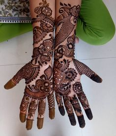 ❤ s anas ❤ Arabian Mehndi Design, Khafif Mehndi Design, Mehndi Designs Book, Mehndi Designs 2018, Mehndi Designs For Girls, Stylish Mehndi Designs, Dulhan Mehndi Designs, Mehndi Design Pictures, Wedding Mehndi Designs