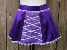 Rapunzel Running Skirt by runthekingdom on Etsy https://www.etsy.com/listing/239844445/rapunzel-running-skirt