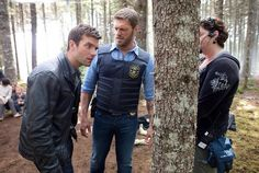 Haven Syfy - Adam Copeland (amazing wrestler and becoming a pretty good actor too)  and Lucas Bryant