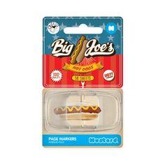 Endlich das Lieblingsrezept oder eine wichtige Textpassage gefunden? Dann schnell mit dem Hot Dog Haftmarker markieren und immer wiederfinden!