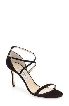 Jimmy Choo  Hesper  Ankle Strap Sandal (Women) Strappy Sandaler c04ba1c6132d9