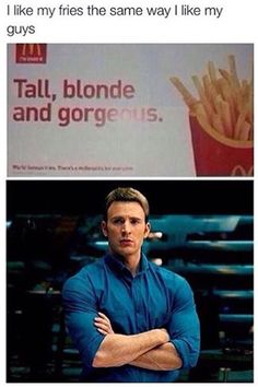 I'm not sure if fries before guys should be applied in this particular situation...