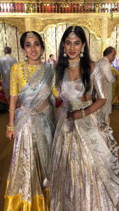 indianfashion indiandesigner punjabibride punjabisuits fulkarisuit fulkari indianwedding indianweddingdress punjabisuit is part of Half saree designs - Indian Bridal Sarees, Indian Bridal Fashion, Indian Wedding Outfits, Bridal Outfits, Indian Outfits, Bridal Dresses, Half Saree Designs, Lehenga Designs, Saree Blouse Designs