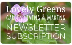 Subscribe to the Lovely Greens Newsletter