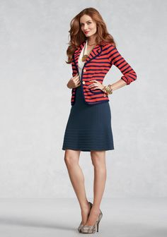 Love the Yacht Club Jacket from the CAbi Spring 2013 Collection